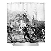 Fort Mckenzie, 1833 Shower Curtain by Granger