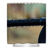 Fort Pierce Morning Dew Shower Curtain