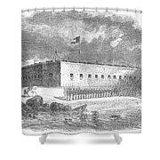 Fort Pulaski, Georgia, 1861 Shower Curtain