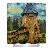 Fortified Faith Shower Curtain