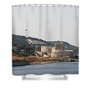 Fortress Canakkale - Dardanelles Shower Curtain