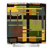 Fortune Shower Curtain by Ely Arsha