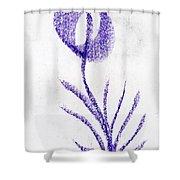 Fortune Flower Shower Curtain