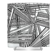Foundations Shower Curtain