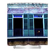 Four Balcony Windows Shower Curtain