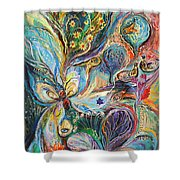 Four Elements Air Part 2 From 4 Shower Curtain