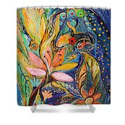 Four Elements Water Part 1 From 4 Shower Curtain