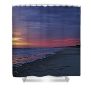Four Minutes On The Beach Shower Curtain