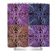 Four Times Four IIi Shower Curtain