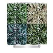 Four Times Four Iv Shower Curtain