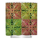 Four Times Four Viii Shower Curtain