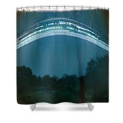 Four Weeks Of The Sun Moving Shower Curtain