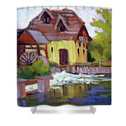 Fourge Mill Giverny Shower Curtain