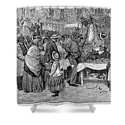 Fourth Of July, 1888 Shower Curtain