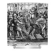 Foxe: Book Of Martyrs Shower Curtain