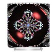 Fractal Illumination Shower Curtain
