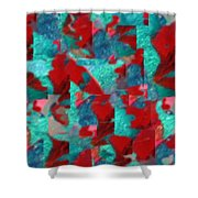 Fractured Memories Shower Curtain