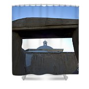Framed Elegance Shower Curtain