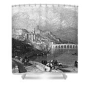 France: Blois Shower Curtain