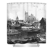 France: Bourges Shower Curtain