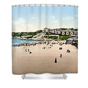 France: Casino, C1895 Shower Curtain
