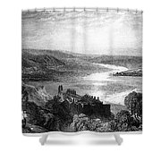 France: Chateau, 1853 Shower Curtain