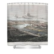 France: Dieppe, 1822 Shower Curtain
