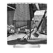 France: Iron Forge, C1750 Shower Curtain