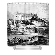 France: Lapalisse Shower Curtain
