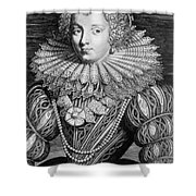 France: Noblewoman Shower Curtain