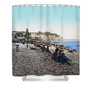 France: Resort, C1895 Shower Curtain