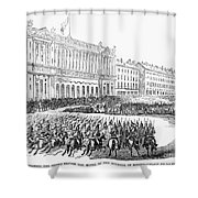 France: Revolution Of 1848 Shower Curtain