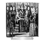 France: Royal Wedding Shower Curtain