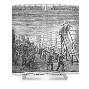 France: Winemaking, 1854 Shower Curtain