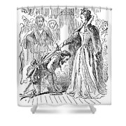 Francis Drake (1540?-1596) Shower Curtain