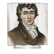 Francis Scott Key (1779-1843) Shower Curtain