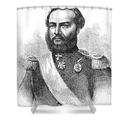 Francisco Solano Lopez Shower Curtain