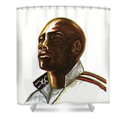 Franckie Fredericks Shower Curtain