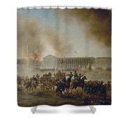 Franco-prussian War, 1870 Shower Curtain