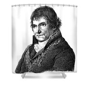 Francois Chaussier, French Physician Shower Curtain