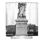 Francois Rabelais Shower Curtain