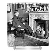 Frank Harris (1854-1931). American Writer Born In Galway, Ireland Shower Curtain