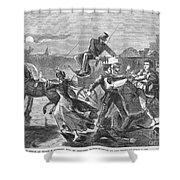 Franklin Benjamin Sanborn Shower Curtain by Granger