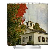Franklin Church Shower Curtain