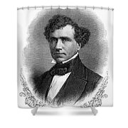 Franklin Pierce (1804-1869) Shower Curtain