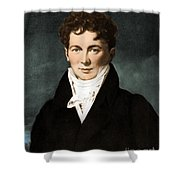 Fran�ois Magendie, French Physiologist Shower Curtain