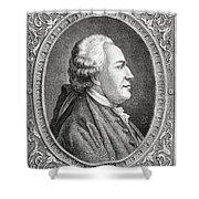 Franz Anton Mesmer, 1734-1815. Viennese Shower Curtain