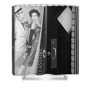 Fred And Ginger In Black And White Shower Curtain