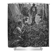 Frederick Douglass (c1817-1895) Shower Curtain by Granger
