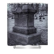 Frederick Douglass Grave One Shower Curtain